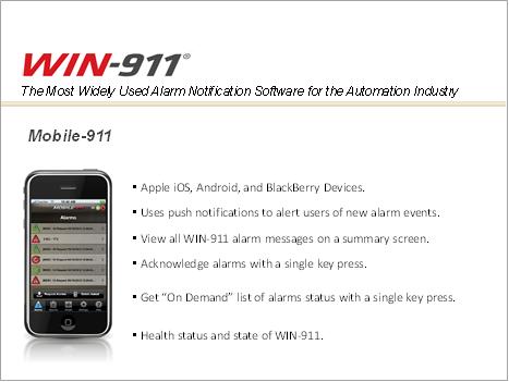 Win-911 - mobile-911
