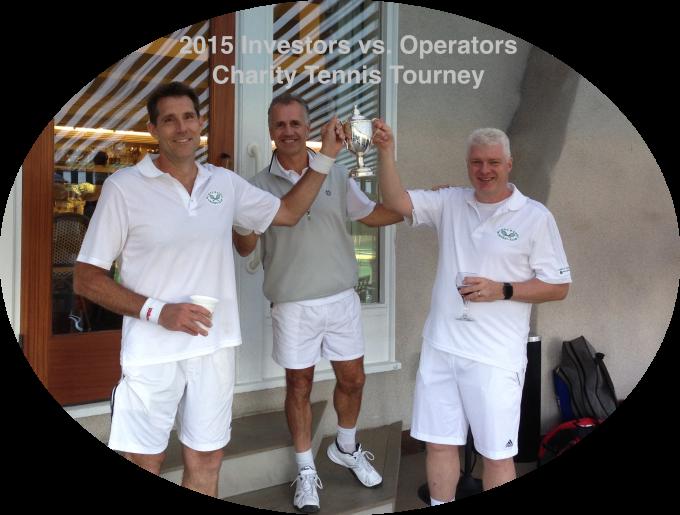 Tennis trophy picture, 2015, Longwood Tournament, Grass